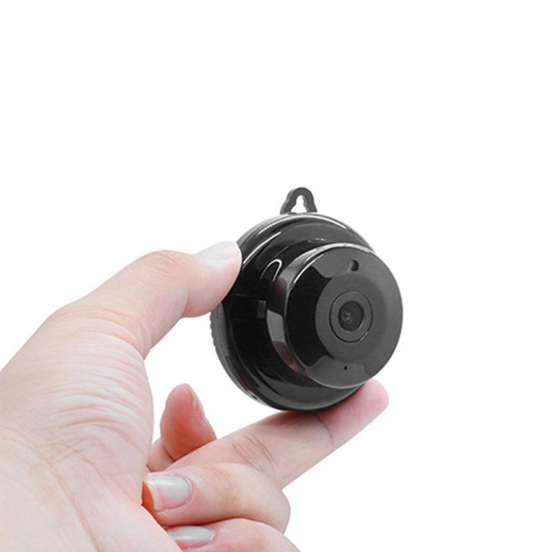 V380 small camera wireless night vision remote camera mobile phone control HD security webcam