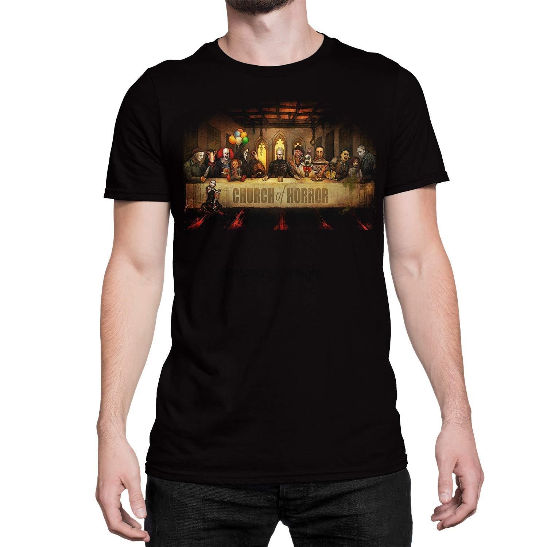 Get Down Art Slash Supper Church of Horrors Männer schwarze T
