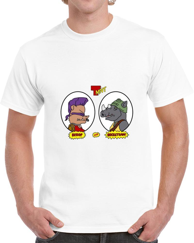 Männer T-Shirt Bebop und Rocksteady-T-Shirt T-Shirt Frauen-T-Shirt