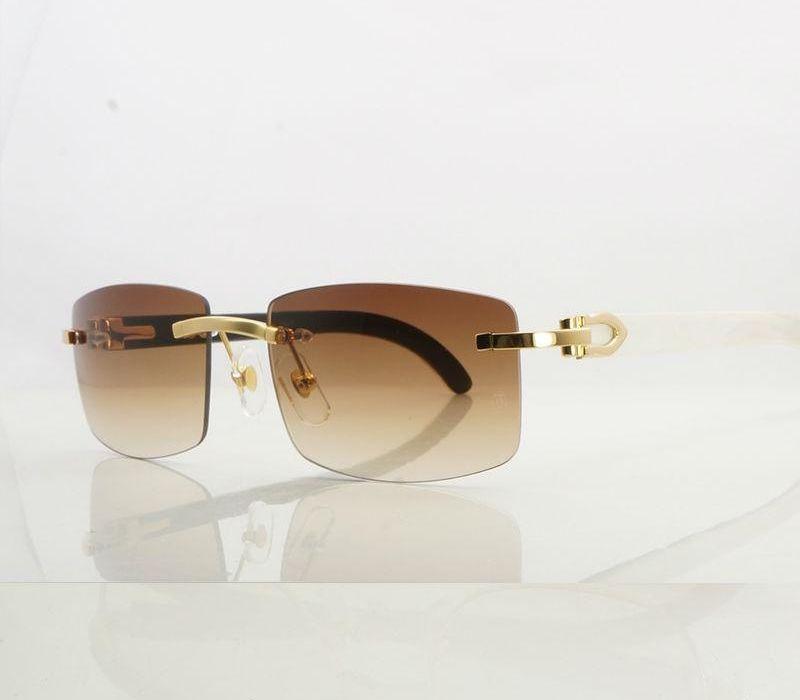 lunettes de cadre noir blanc HANDMADE corne lunettes de soleil rose hommes montures de lunettes de soleil de marque mens98