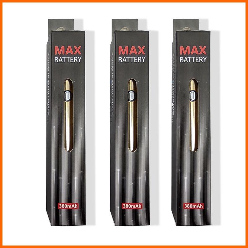 Переменная Bottom Напряжение Аутентичные Amigo Itsuwa Max Battery 380mAh Bottom заряда батареи Заряженные предпускового подогрева 4 Pin USB Fit 510 Thread