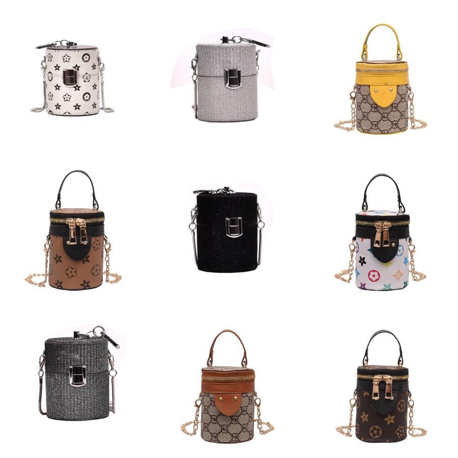 2020 Новый дизайнер моды сумки плеча 2 цвета девушок Crossbody сумки (купить один мешок, может получить маски Free 10шт Face) # 598