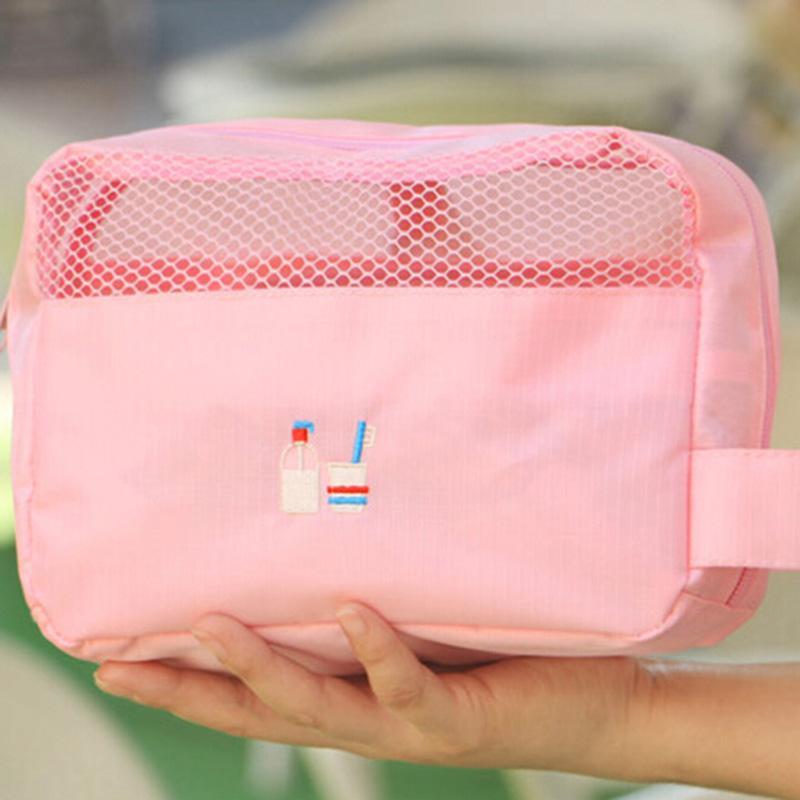 Большая емкость для хранения сумки Косметички женские путешествия Женщины макияж Косметические Дорожная сумка Организатор личной гигиены