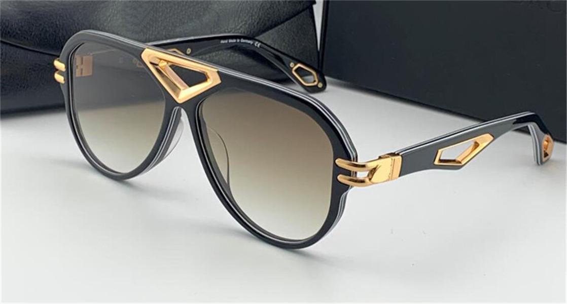 Лучшие мужчины очки Домкрат я солнцезащитных очков пилот полнокадровой зеркало алмазного полого высокого класса высокого качества открытый UV400 очки