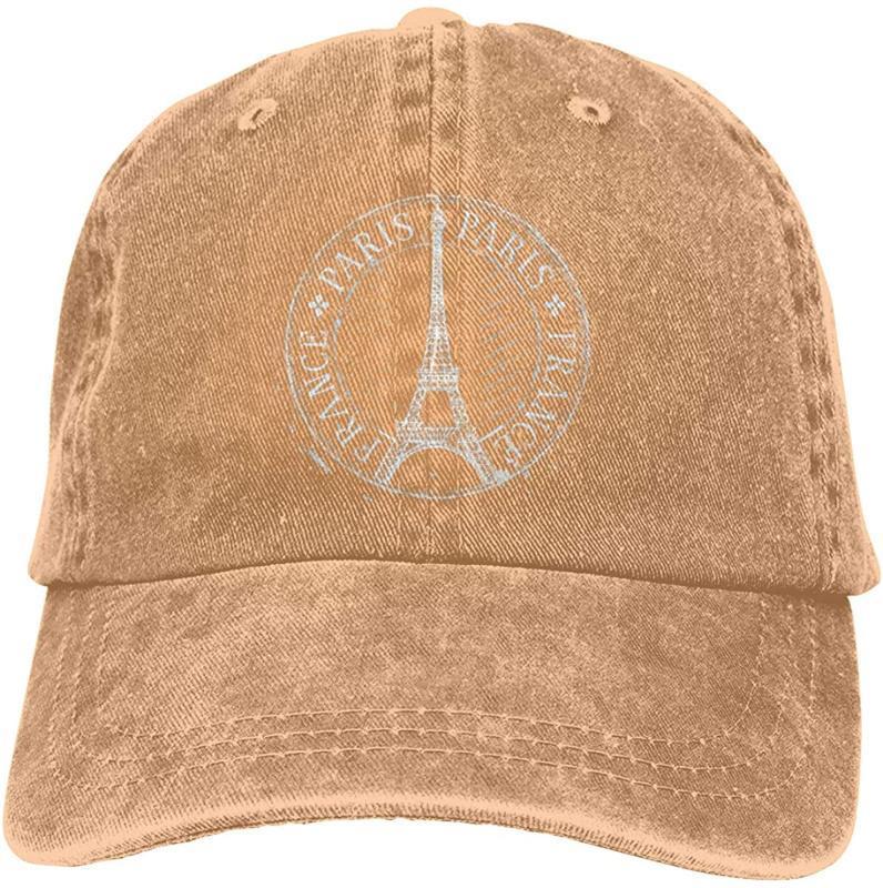 Paris Torre Eiffel Cap Sports Denim ajustável Snapback Casquettes unissex plain Baseball Cowboy Black Hat