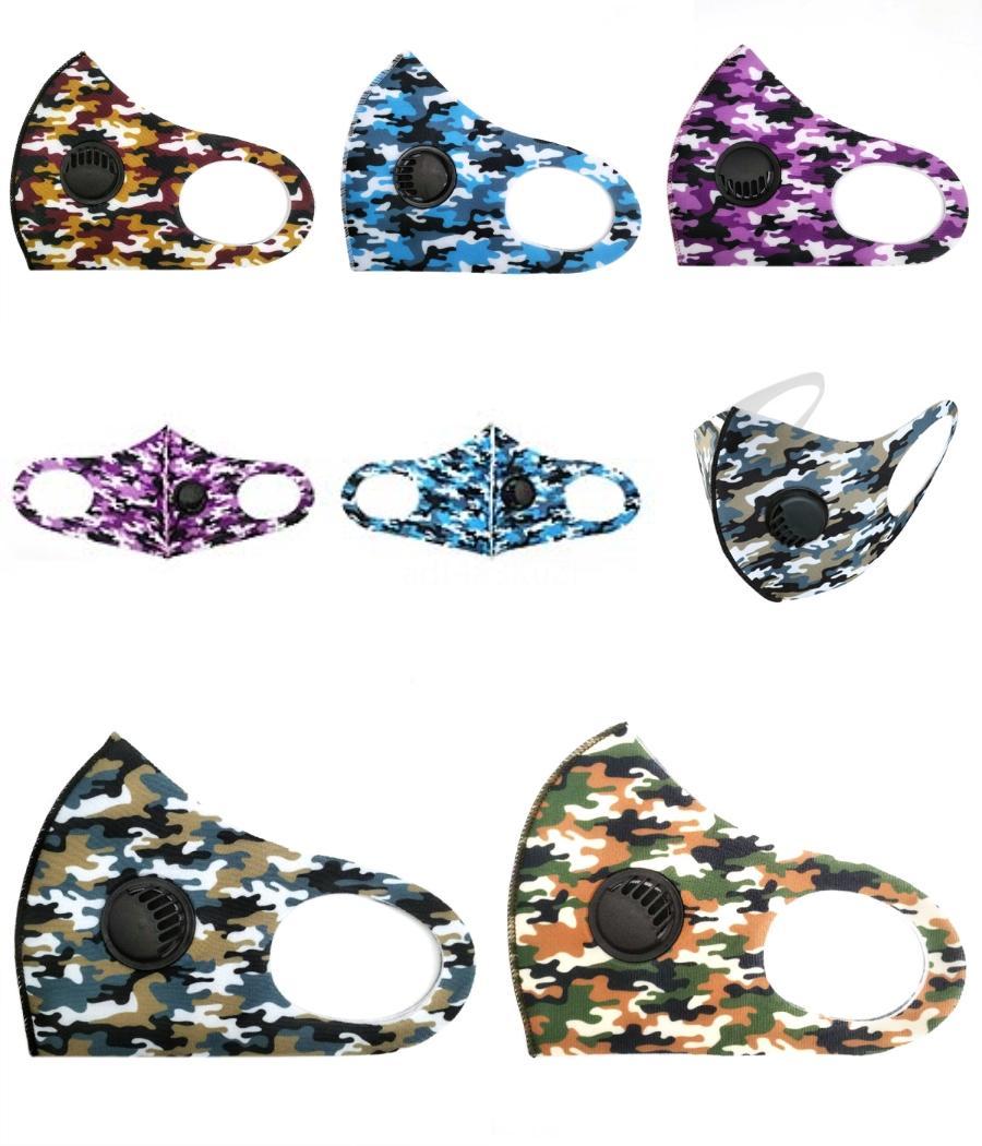 Hızlı Kargo Yeni Tasarımcı Yüz Göz Kalkanı Açık Maskeler Yıkanabilir Yuvası İnsanlar koruyucu ile 2 Katmanlar Sünger Facemask Maske FY9078 # 284