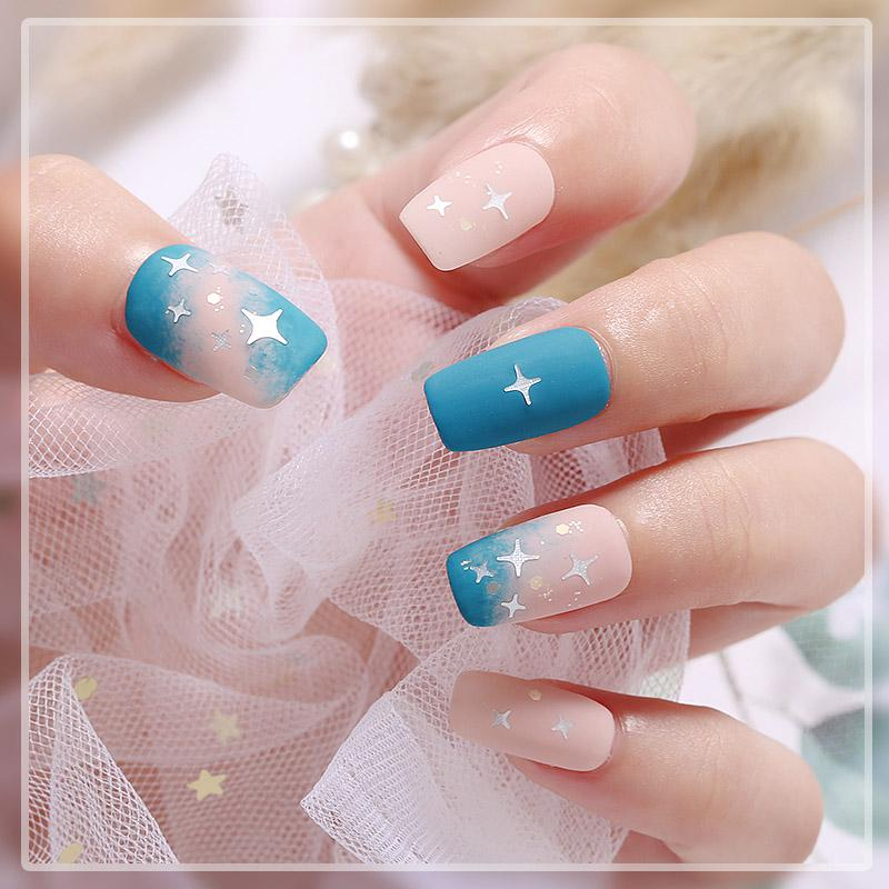Holographic Star Heart Nail Art Glitter Micro Star Laser Flakes Or Argent 3D Paillettes Manucure polonaise Nail Decoration