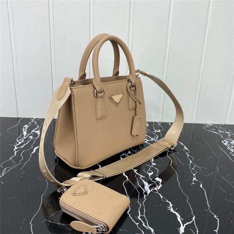 Moda de alta calidad Mujeres Bolsos de hombro Logotipo de triángulo único Paquete de pecho de cuero genuino Lady Tote Bolsos Polso presbiopic Messenger Bag Crossbody
