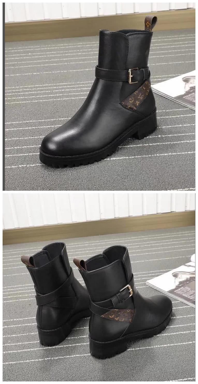 2020 Vendas de alta qualidade clássico Descoberta Moda LISA Botim 1A5LCQ botas mulheres MONTANTES (com caixa)