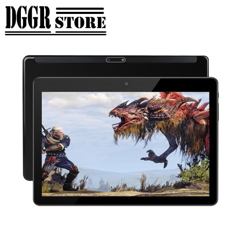 Tabletler PC çağrılması 2020 Yeni 10 inç Tablet PC Android 9.0 işletim sistemi Çift kamera Çift SIM kart 3G WIFI GPS Küresel Telefon