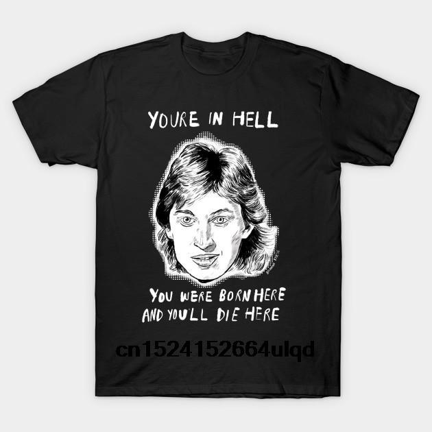 % 100 Pamuk O-boyun Baskılı Tişört Erkekler Tişörtlü Wayne Gretzky - Wayne Gretzky Kadınlar Tişört