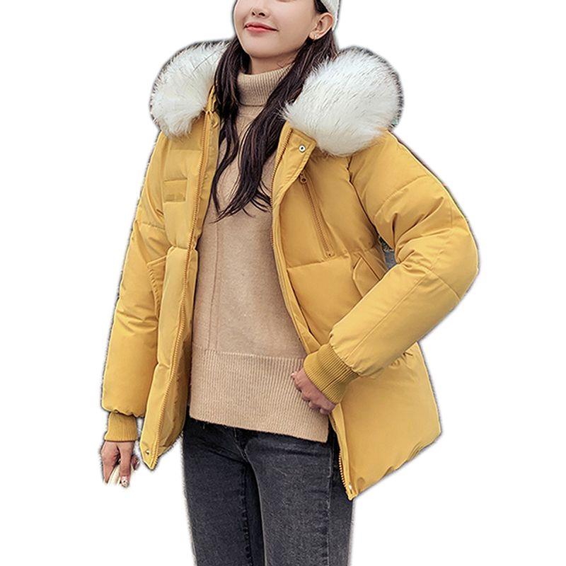 nouvelle Automne Hiver Veste Manteau Femme Mode Femme Veste à capuche hiver de femme Parka chaud Casual Taille Plus Pardessus Veste Parkas