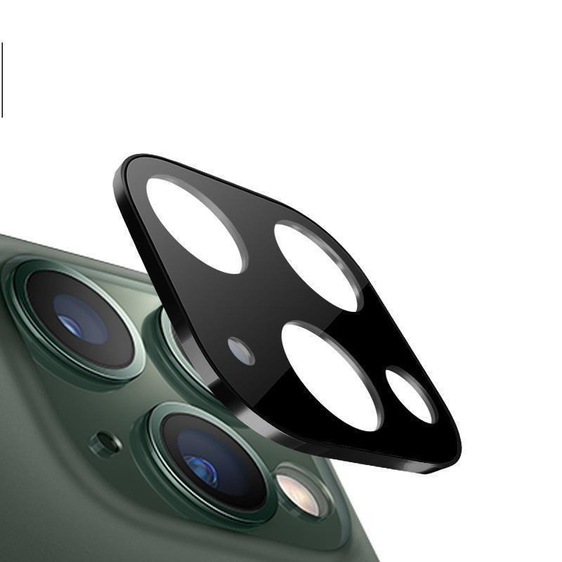Caméra avec lentille en verre protecteur trempé pour iPhone 11 Pro 11 Pro Max Avec alliage de titane PARFAITEMENT 100pcs / Lot