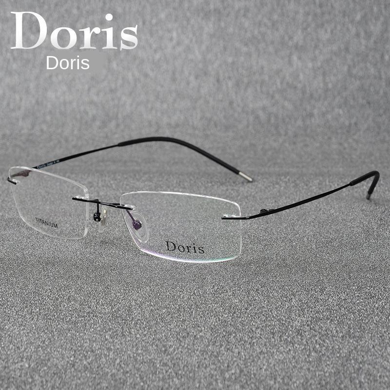 IGNON alliage de titane ultra-léger sans cadre Shile lunettes myopie même monture de lunettes optiques de la myopie chez les hommes et les femmes tout jeu 6210