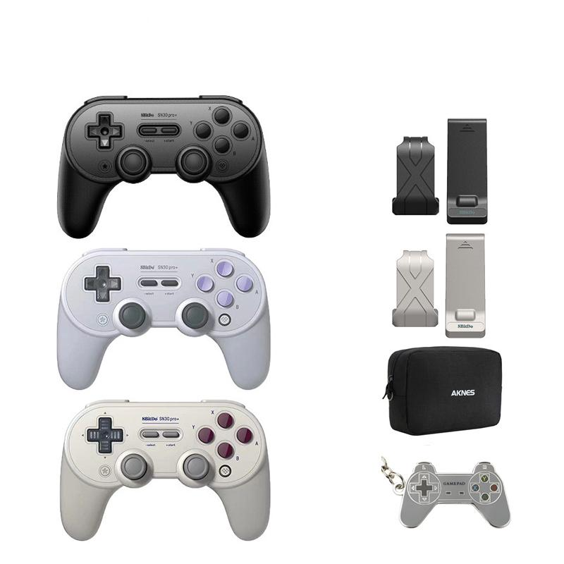 SN30 PRO+ Wireless Joystick Bluetooth Remote Game Controller Gamepad for Windows/Android/macOS/Nintendo Switch