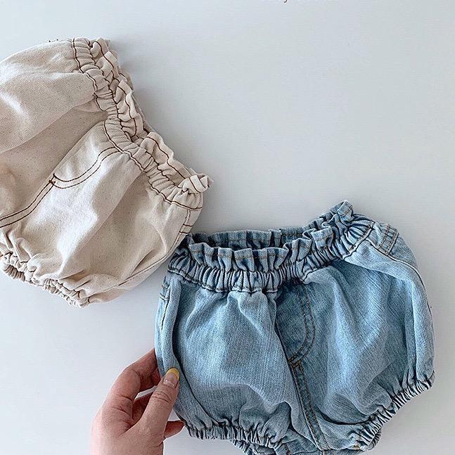 Ins côte coréen bébé fille garçons pantalons estivaux chôts chôts enfants grande qualité nouveau-né élastique enfants chaude jeans pantalons fleurs pour 0-2T