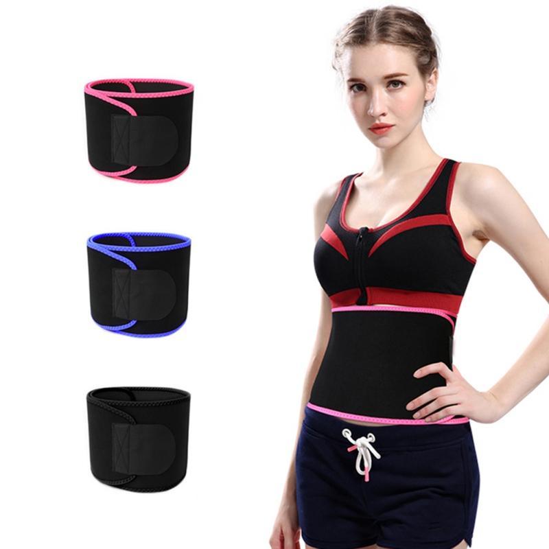 Kadınlar Erkekler Faydalı Vücut Şekillendirici Suit Spor Kemer Terli Korse Kemeri Bel Trainer Bel Giyotin Korse korse Sweat