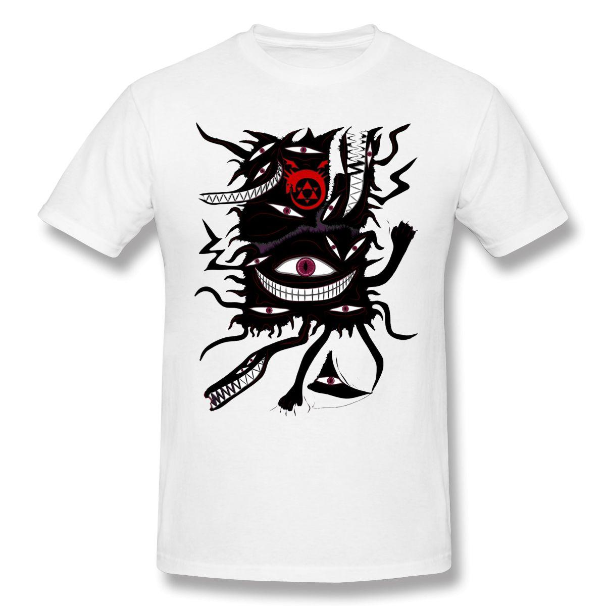 Pridefull Slim Fit T shirt casual uomini copre caldi di vendita Fullmetal Alchemist Gangan Comics Maglietta 100% del O collo t-shirt