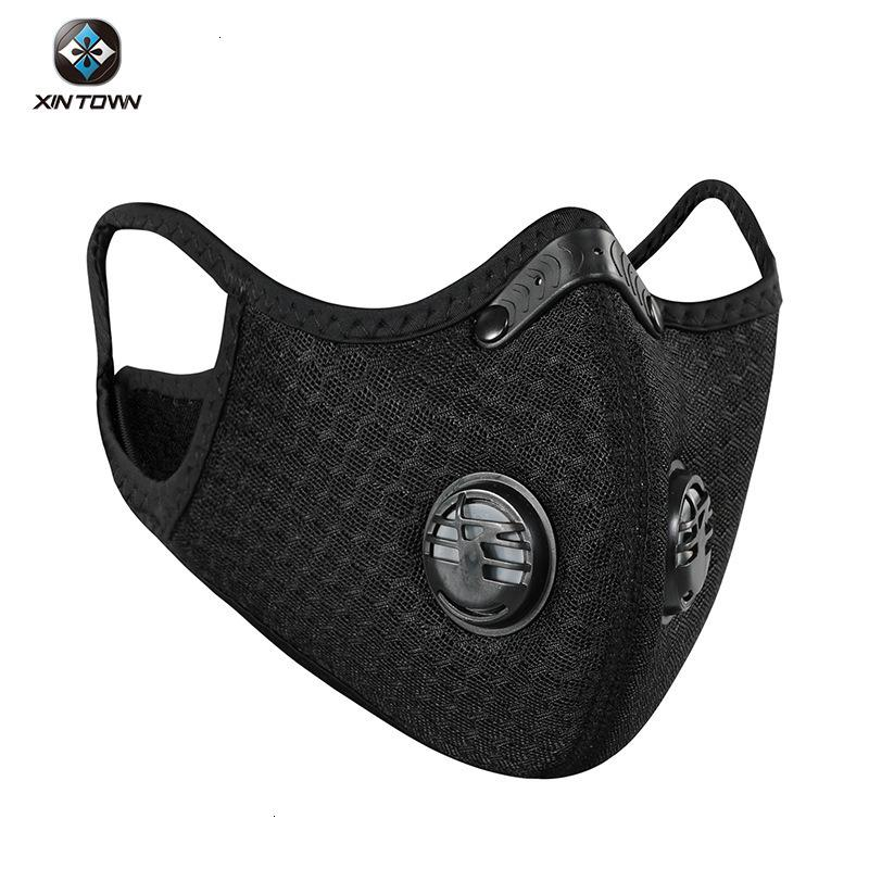 Riding Xingheng Solid Color Grid Schutz Outdoor Laufen 95% Maske-Zertifikat
