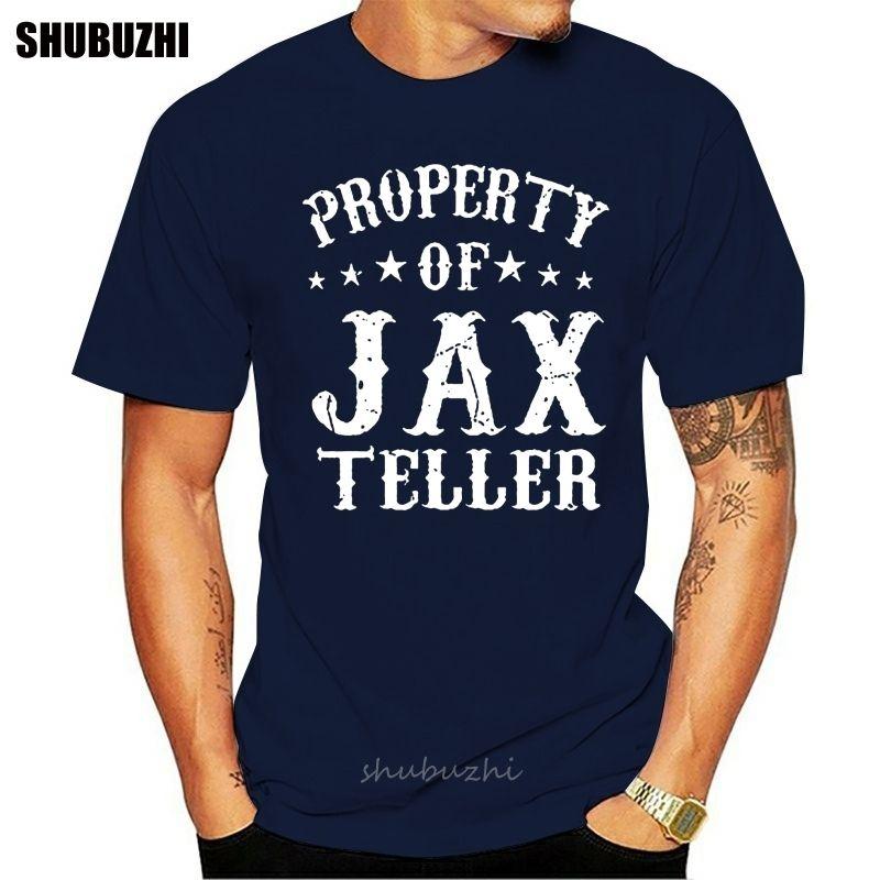 Männer-T-Shirt Eigentum von Jax Teller Frauen T-Shirt Baumwolle T-Shirt Männer Sommer Art und Weise T-Shirt Eurogröße