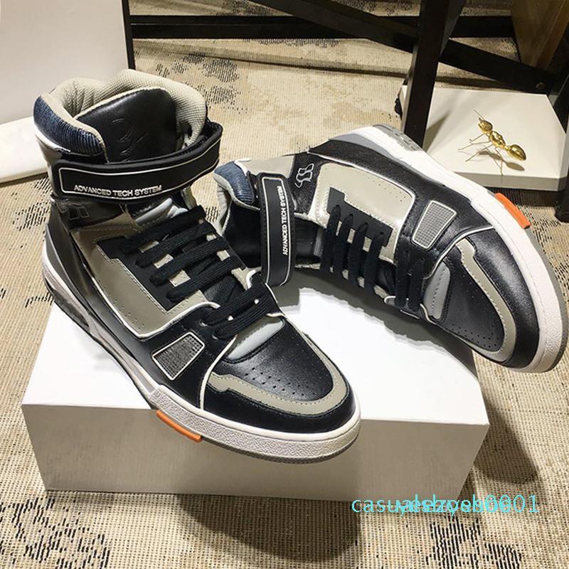 Nueva Riefsaw Trainer para hombre de la zapatilla de deporte de arranque zapatos de época zapatos cómodos de lujo -Up los hombres con cordones Zapatos Zapatos de marque De Luxe Pour y01