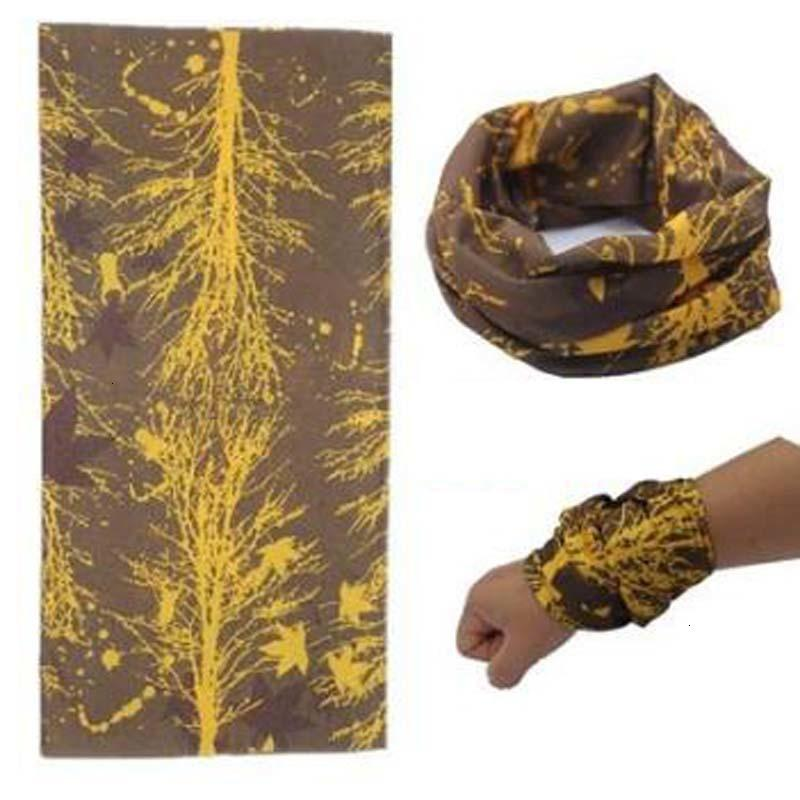 Colores múltiples al aire libre Promoción multifuncionales Ciclismo fisuras del pañuelo mágico de las bufandas de las mujeres de los hombres calientes del pelo de la venda de la bufanda