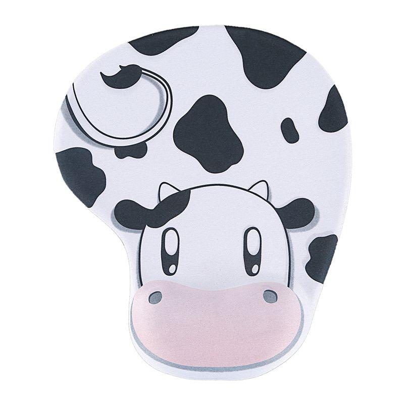 Корова Стиль Черный Белый запястий Поддержка мыши Мыши Pad для компьютера