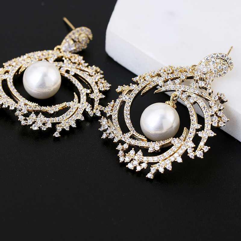 Gioielli Olive Branch design orecchini Summer Party Donne vestire moda orecchini di goccia XIUMEIYIZU Brand New Style