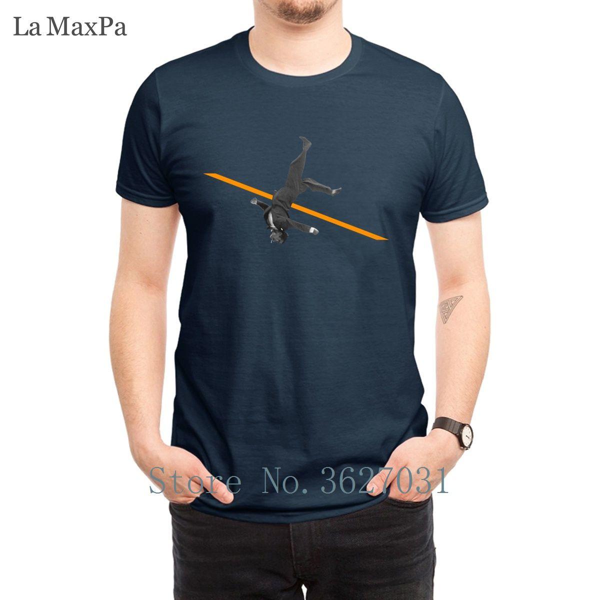 Charakter Standard-T-Shirts für Männer Hochsprung Männer-T-Shirt Familie 2018 Männer-T-Shirt Neueste Short Sleeve Top-Qualität