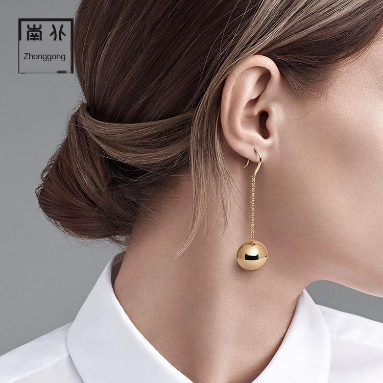 las ventas de joyas Ntmny Quanzhou Luoyang Corea Dongdaemun moda y complementos de joyería pendientes pendientes nuevos celebridad inconformista en línea para las mujeres