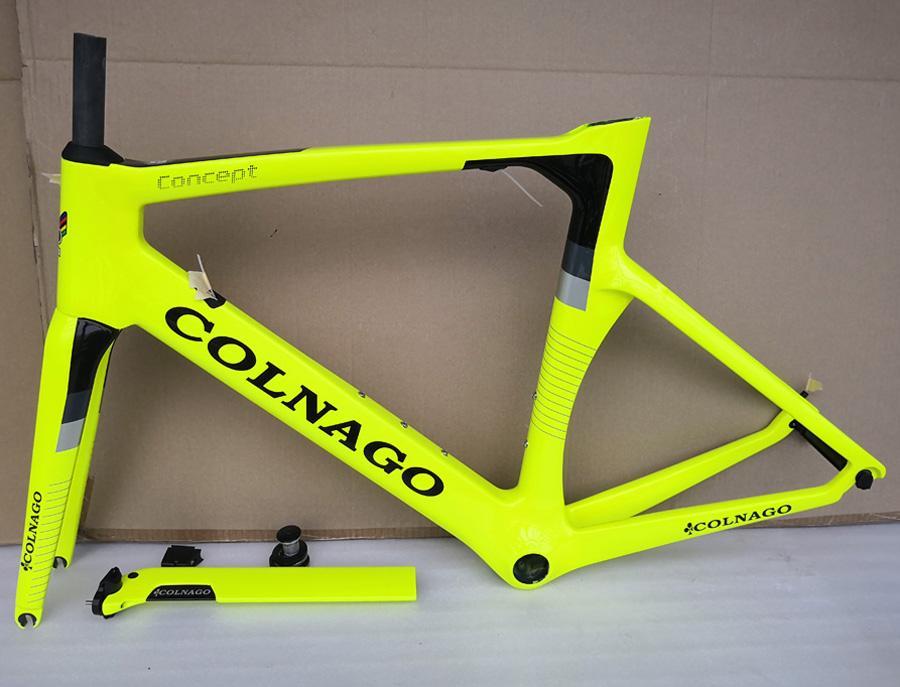 COLNAGO إطار مفهوم الدراجة T1100 UD الطريق الإطار الكربون دراجة ذات نوعية جيدة الكربون إطارات الدراجة 15 الألوان