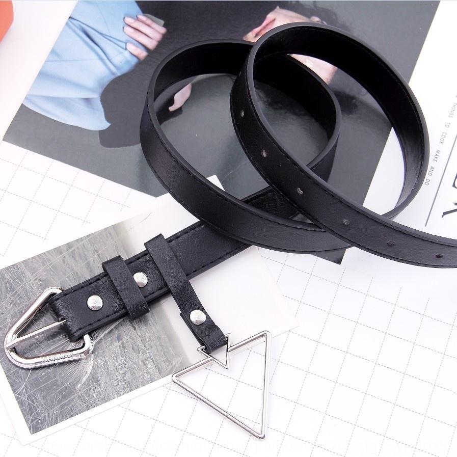 TAqSn anneau noir décoratif coréenne femmes style décoratif pin Broche style coréen de mode femmes pinbelt noir et des jeans anneau jeans et des jeans