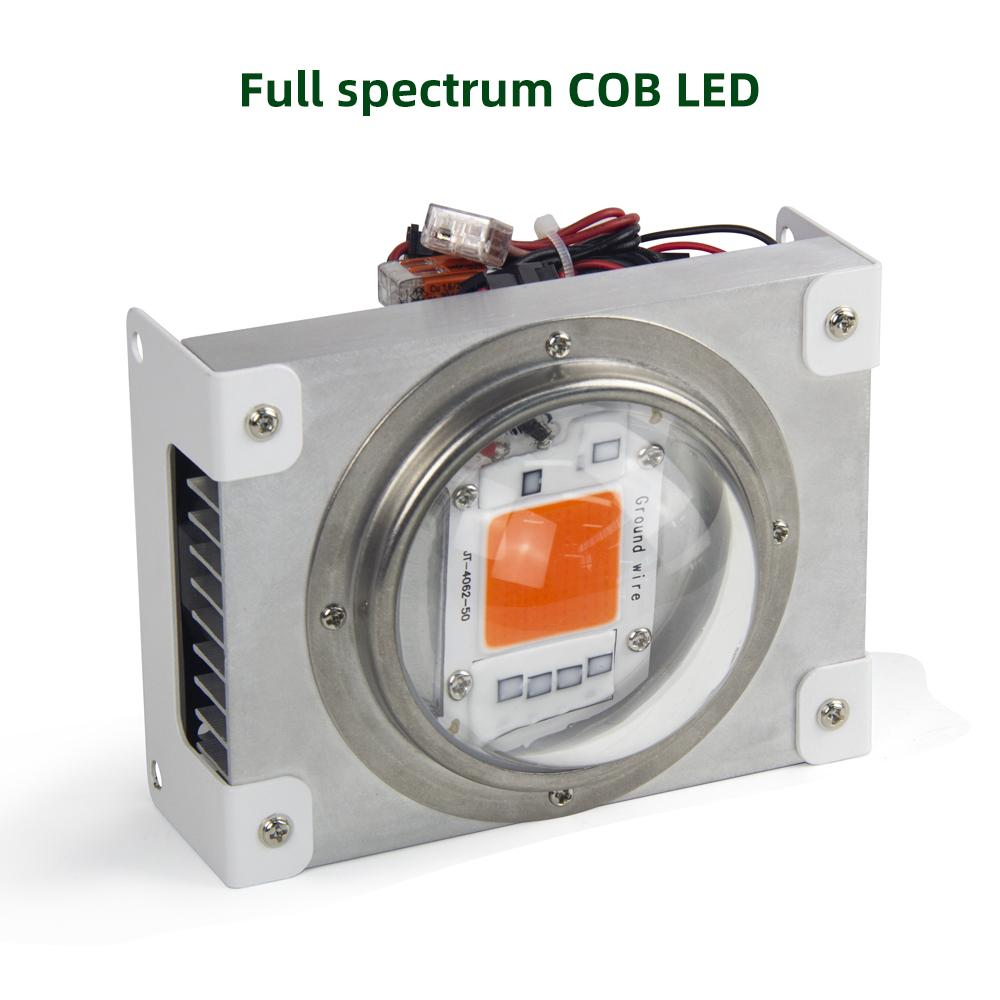 100W full spectrum LED indoor plant growth light COB LED plant light is suitable for the full cycle growth of all plants
