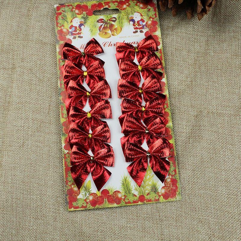 z4y9T Card стекаются небольшой фланель пакет butterfly5.5CM дерева декоративные Рождественская открытка butterflybutterfly стекаются маленький лук 12 фланель Подвеска