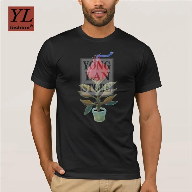 Planta carnívora divertida Hombres S Camisetas del tamaño grande del inconformista Ocio Camiseta para los hombres 2020
