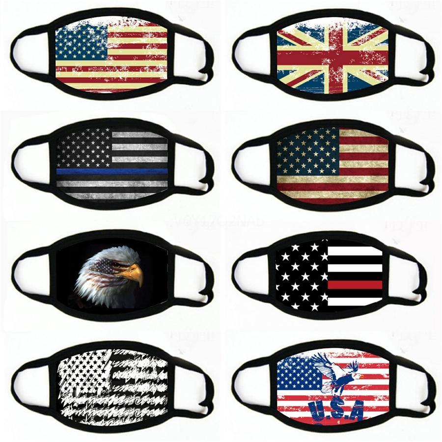 Drapeau national Silky Couverture Nez national Designer faibles prix Masques Masque Visage Drapeau Modeste individuellement incluse dans le paquet # 815 à bon marché