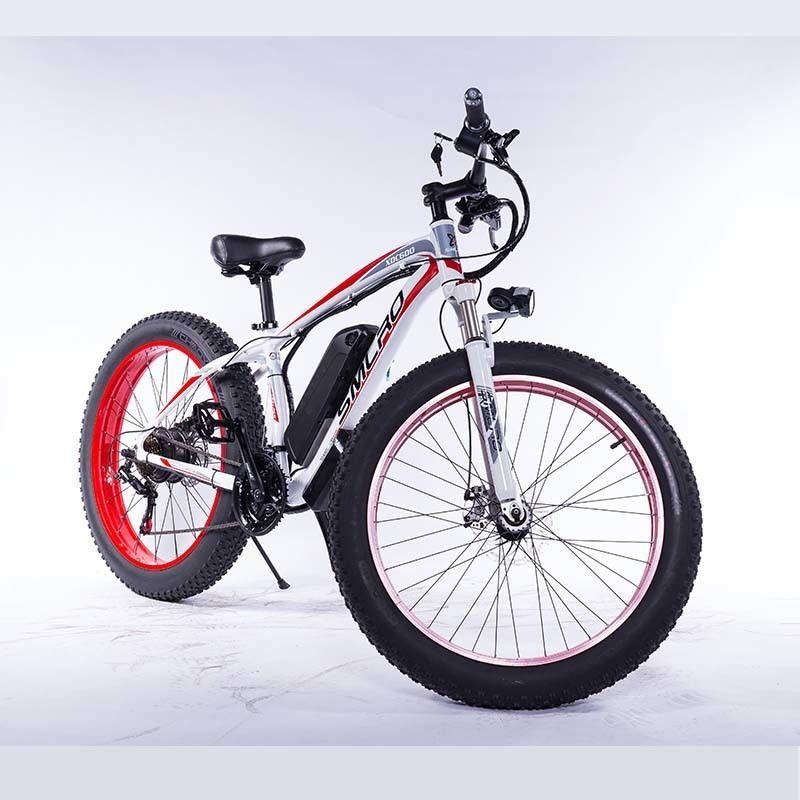 XDC600 Bafang 48V 1000W Motor 26 inch Snow Fat Electric Bike Bicycle tire 26x4.0 17.5AH Sam sung battery