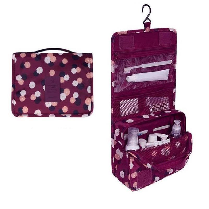 Multifunzionale modo di alta qualità Cosmetic Bag impermeabile signore sacchetto di immagazzinaggio signore portatili Wash Bag stoccaggio cosmetici