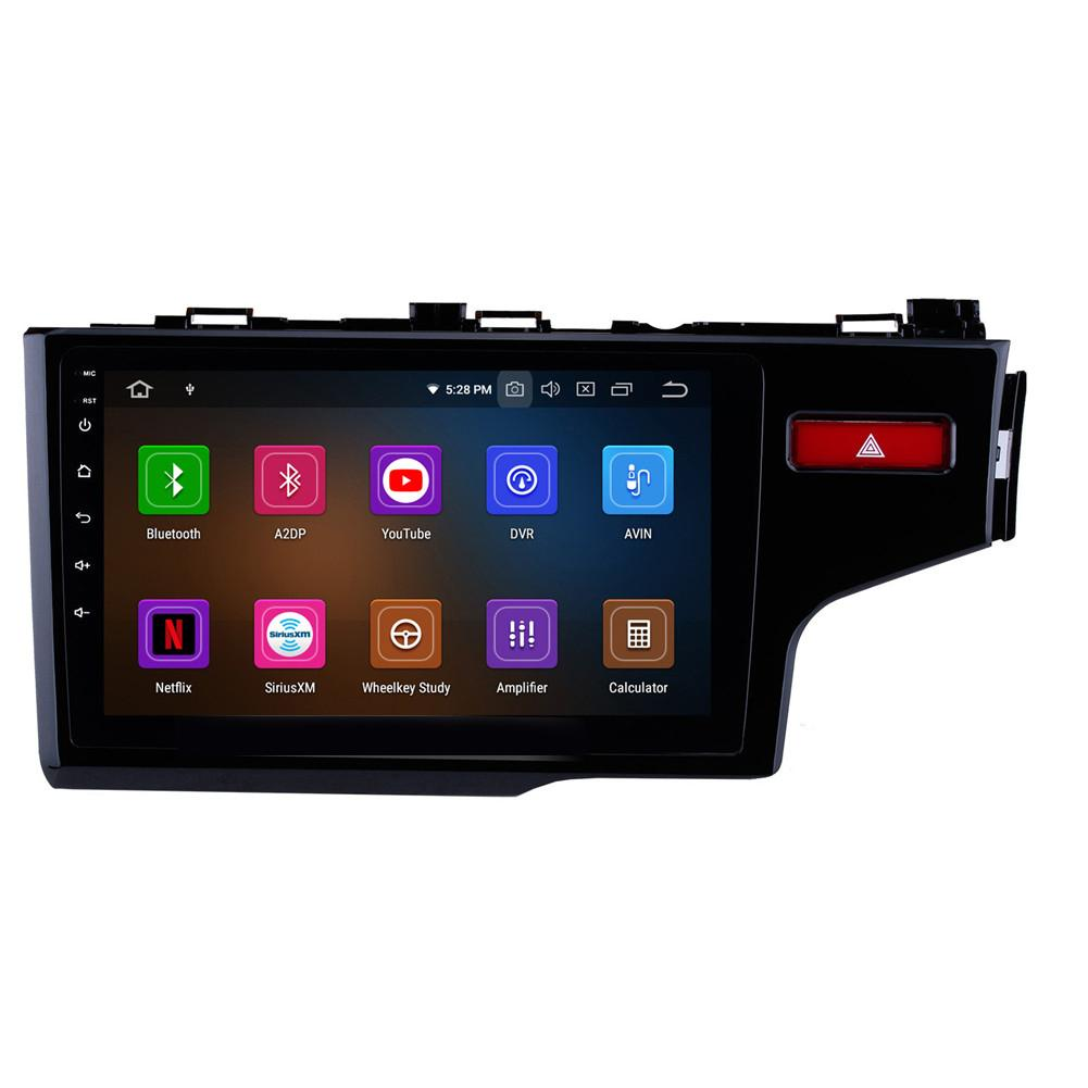 """9"""" GPS Navi Car Stereo Android 10 for 2014 - 2016 HONDA FIT RHD with WIFI Bluetooth Music USB AUX support DAB SWC DVR"""