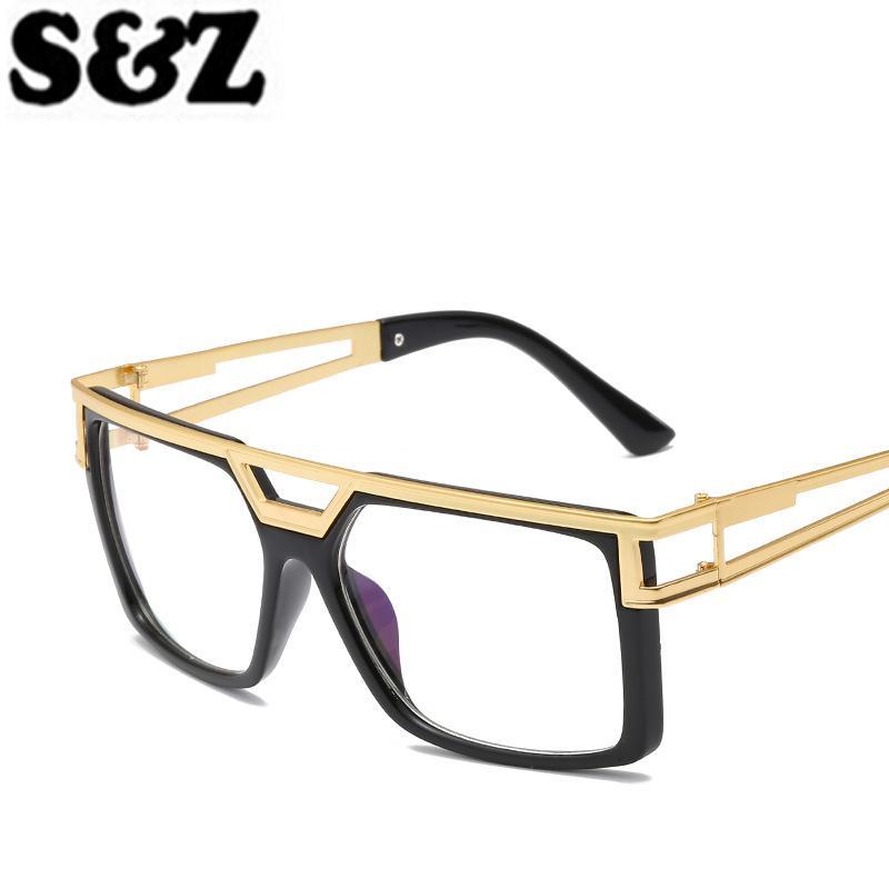 Солнцезащитные очки Бренд Дизайн Квадратные Мужчины Женщины Топы Мода Ретро Стиль Солнцезащитные Очки Мужские Винтажные Очки Зеркало