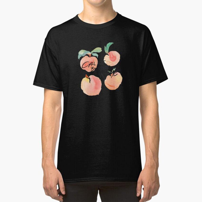 Me llama por tu nombre - Melocotones T - Camisa me llama por tu nombre Cmbyn Melocotones rosa lindo Orgullo Gay de Cine de Sundance de frutas