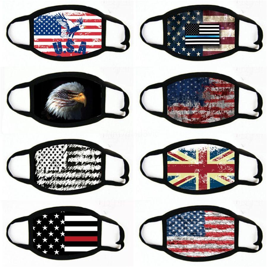 Bisiklet Karikatür Pamuk Bayrak WashableCloth Maskeleri Tasarımcı Maske Anti Toz Siyah Hayatlar Matter I Cant Nefes # 780