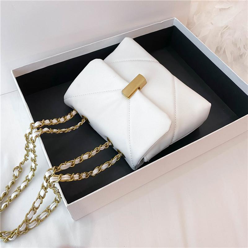 2021 Novo Design Multicolor Ombro Bags Chains Mulheres para Sac principal Sac Crossbody Bags Moda A Cintas Vjcph