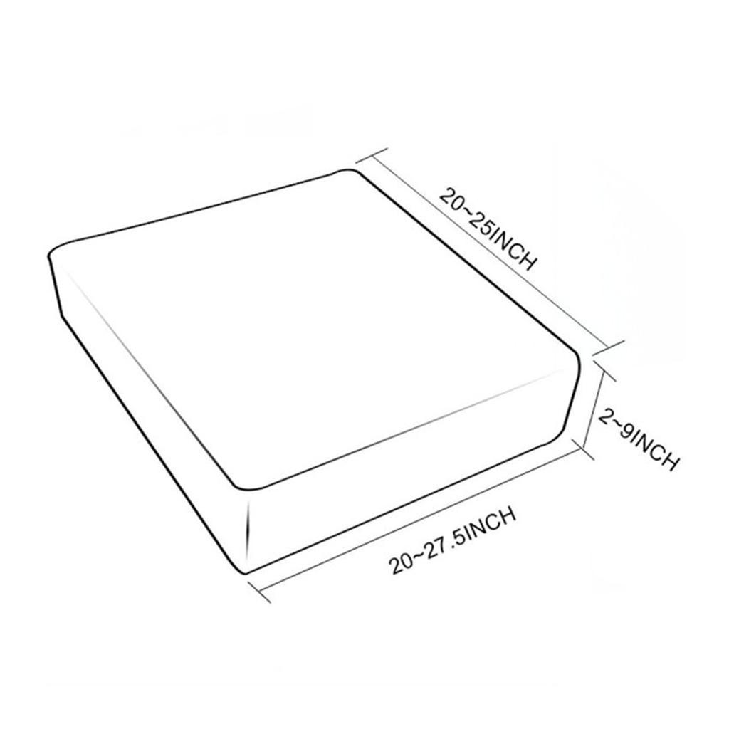 3pcs impermeable del amortiguador de asiento de la PU sofá de cuero protector de la cubierta Coffee1 plazas