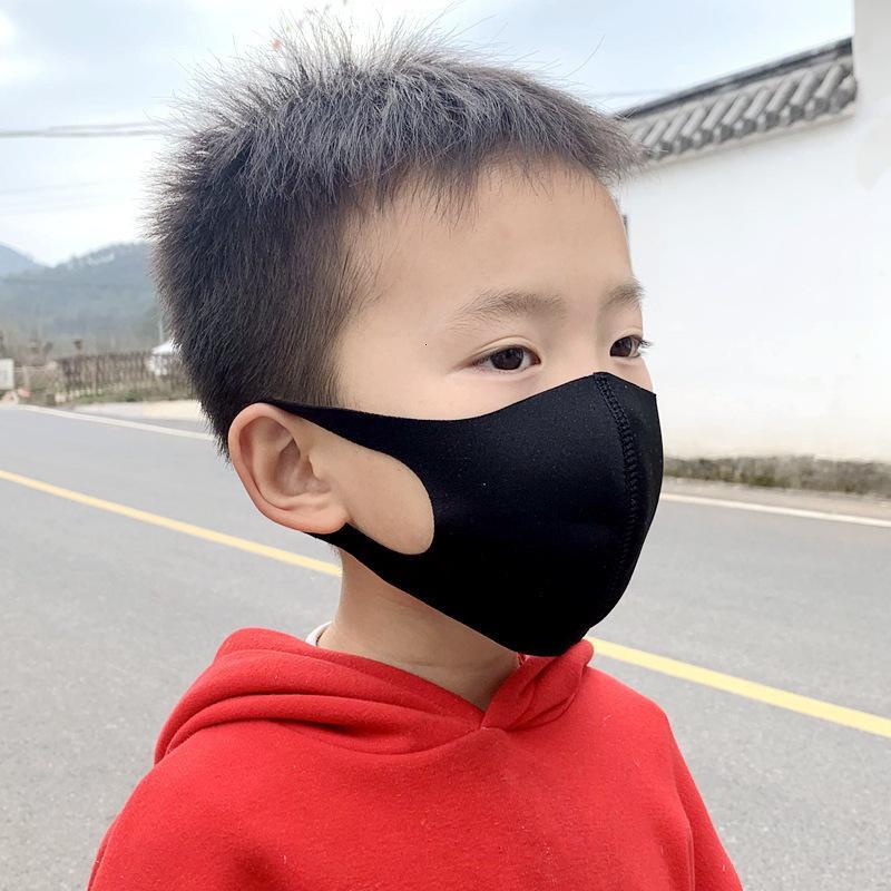Maske waschbar 3D Gesichtskinder Mode Kinder PM2.5 4 Staubmaul Farben Outdoor Gesichtsumgebung Party Masken Atemschutzmaske KMMAA