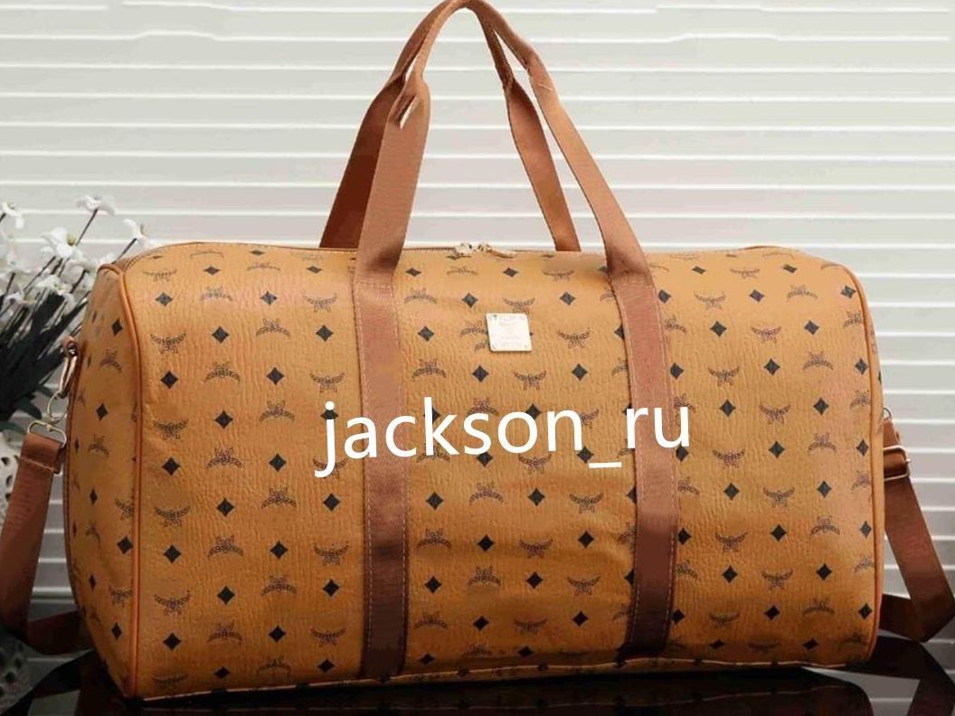핫 브랜드 남성 명품 여성 여행 가방 PU 가죽 더플 가방 브랜드 디자이너 가방 핸드백 큰 용량 스포츠 bag55 * 25 * 30cm