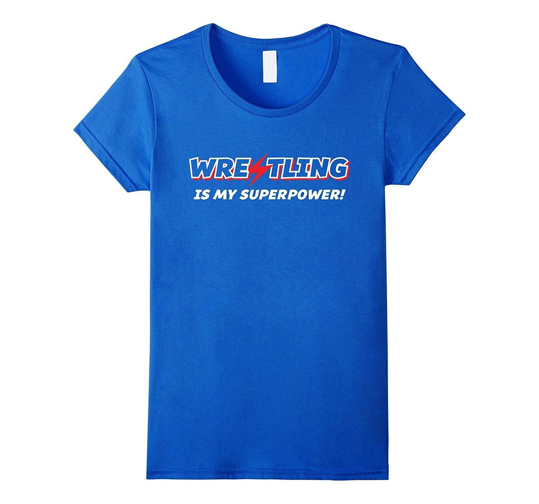 2019 heißen Verkauf Mode Wrestling ist meine Supermacht T Grappler Ringer-T-Shirt T-Shirt