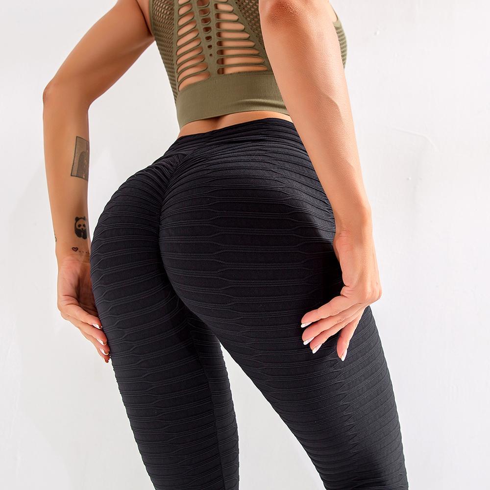 Kadınlar Anti-Selülit Tozluklar Seksi Yüksek Bel Tozluklar Yukarı Leggins Spor Kadın Spor Koşu Yoga Pantolon Spor Kız leggins Y200904 itin
