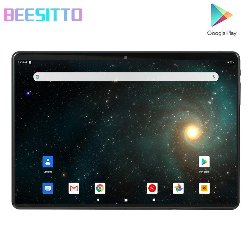 Free shipping Android 9.0 Quad Core 10 inch Tablet PC 1.5GB RAM 32GB ROM 5MP WIFI A-GPS 2.5D Tempered Glass IPS 1280*800