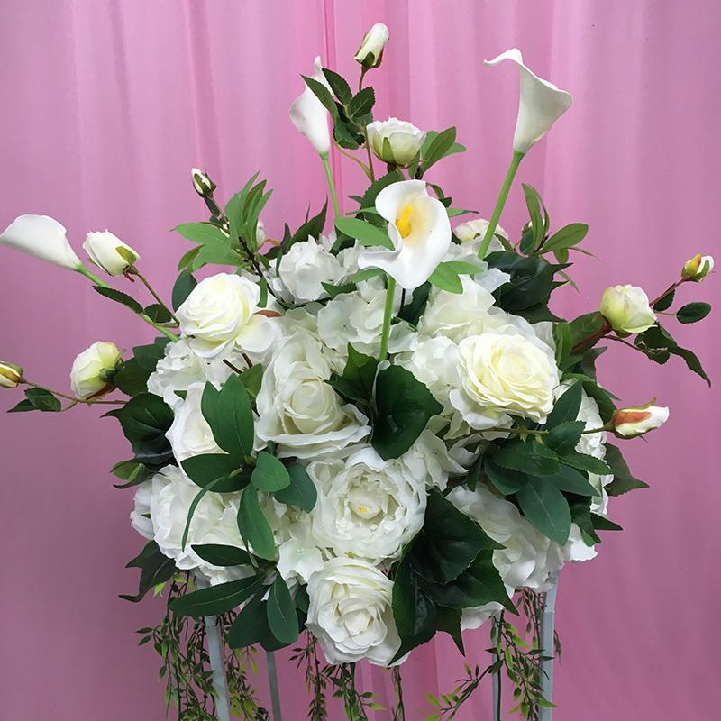 Wedding artificial flowers Centerpieces decoration foral stand for home decor table decor flower arrangement decorations